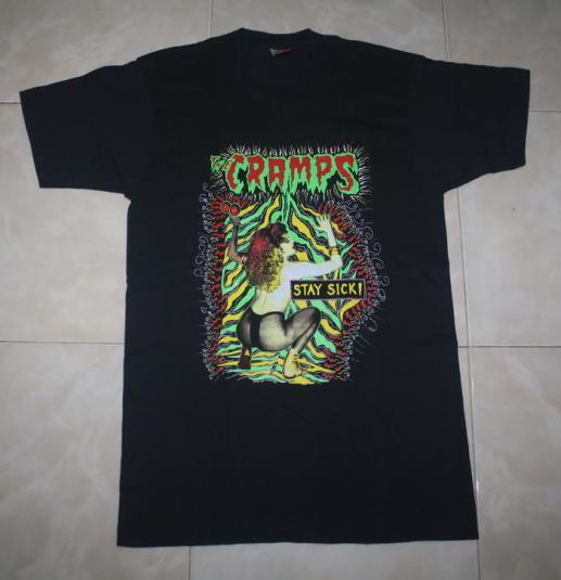 Vintage The Cramps Stay Sick T-Shirt