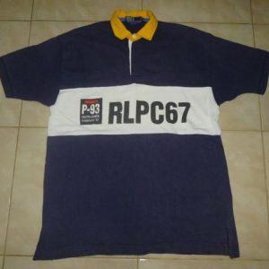 Vintage Polo Ralph Lauren PLPC67 P-93 Rugby T-Shirt