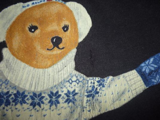 Vintage Polo Bear Ralph Lauren T-Shirt polo sport