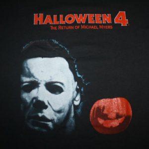 Vintage 80s Halloween 4 The Return Of Michael Myers T-Shirt