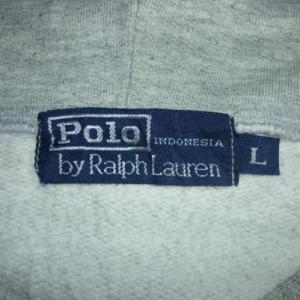 Rare Vintage Polo Ralph Lauren Hoodie Sweatshirt