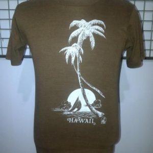 Vintage Hawaii Poly Tees Sunstrokes 50/50 T-Shirt