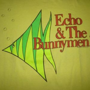 Vintage Echo And The Bunnymen 1988 T-Shirt
