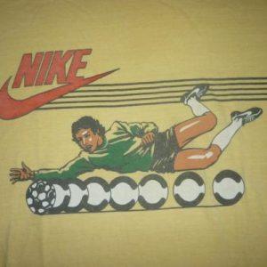 Vintage Nike Blue Tag Soccer T-Shirt