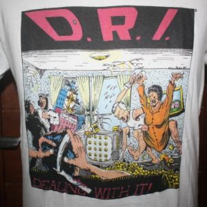 Vintage D.R.I. Dirty Rotten Imbeciles T-Shirt