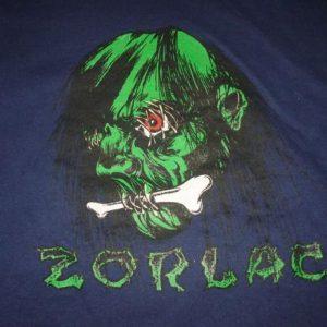 Vintage Zorlac Skateboards Pushead Hoodie Sweatshirt