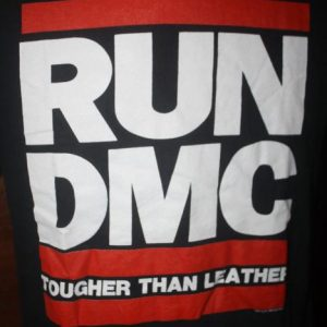 Vintage Run DMC Tougher Than Leather 1989 T-Shirt