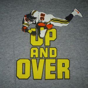 Vintage Nike Up And Over Rayon Gray Tag T-Shirt