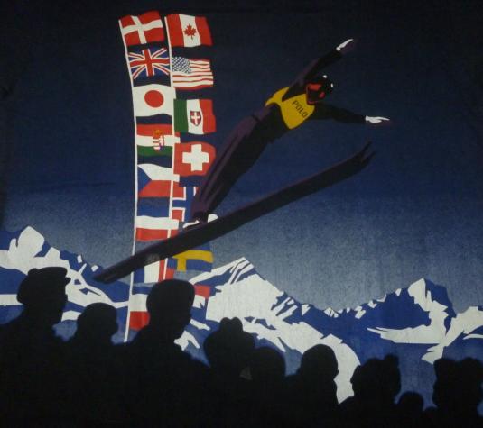 Vintage Polo Ralph Lauren Ski Stadium T-Shirt