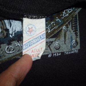 Vintage Triumph World Tour 1985 Sweatshirt