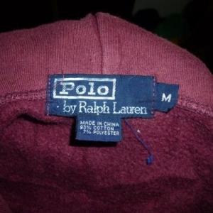 Vintage Polo Bear Ralph Lauren Hoodie Sweatshirt