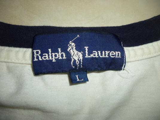 Vintage Polo Ralph Lauren P Wing T-Shirt