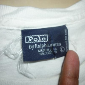Vintage Polo Ralph Lauren Stadium 92 T-Shirt