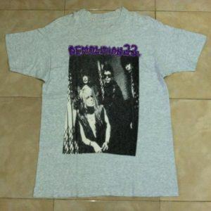 Vintage 90s Demolition 23 T-Shirt Michael Monroe Hanoi Rocks