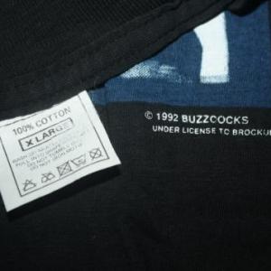 Vintage Buzzcocks Tour 1992 T-Shirt Concert Punk