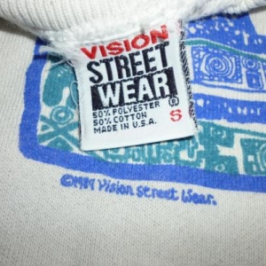 Vintage Vision Street Wear 80's Sweatshirt