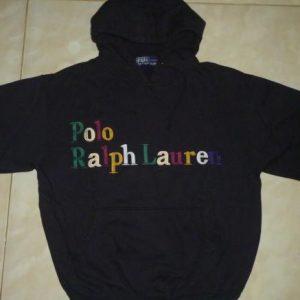Vintage Polo Ralph Lauren Hoodie Sweatshirt