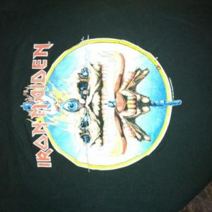 "Iron Maiden ""The Clairvoyant"" Design 1988"