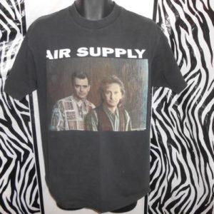Air Supply The Vanishing Races World Tour T-Shirt 1993 1994