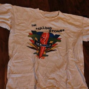 Vtg.The Rolling Stones' Tour of the Americas '75 T-shirt
