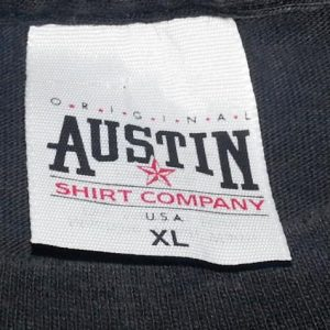 VTG 90s AUSTIN NICHOLS BUCKSHOT T-Shirt Wild West Liquor XL