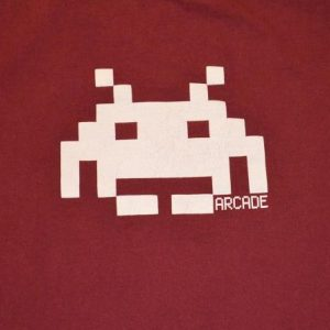 Vintage 90s Space Invaders Arcade T-Shirt - S/M