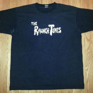 90s Raunch Tones T-Shirt Roadhouse Blues Tour Band Tee Sz XL