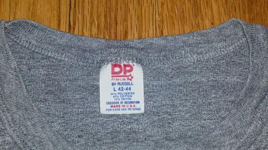 Vintage 80s UNLV T-Shirt Tri-Blend Rayon Las Vegas Russell L