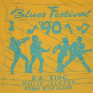 "Vintage 90s ""Blues Fest"" B.B. King T-Shirt"