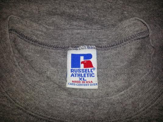 80s Kansas City Chiefs Tri-Blend T-Shirt Rayon NFL XL