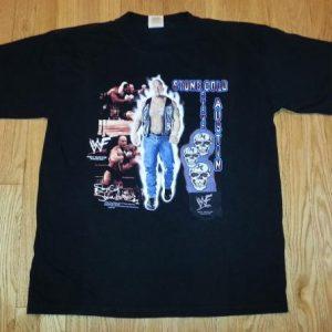VTG 90s Stone Cold Steve Austin T-Shirt WWF Wrestling SZ XL