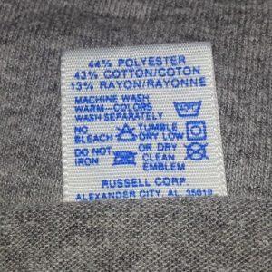 80s FAR HILLS ATHLETICS T-Shirt Tri Blend Rayon Russell NJ L