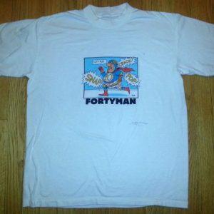 90s Shoebox Greetings T-Shirt Hallmark Fortyman 40 Sz L