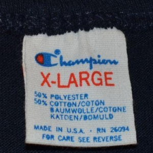 Vintage 80s 90s Syracuse University T-Shirt - L