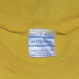 Vintage 70s GARFIELD FAN CLUB T-Shirt 1978 Jim Davis Sz XL