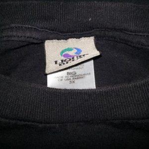 90s Grateful Dead T-Shirt Liquid Blue Skeleton Cards 3XL
