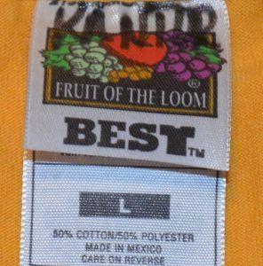 "Vintage 90s Camp Canadensis ""Future Gold"" Robots T-Shirt"