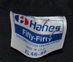 Vintage 80s SOFT 50/50 Conflux Martial Arts T-Shirt - L