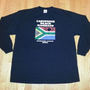 VTG 90s LADYSMITH BLACK MAMBAZO T-Shirt 1999 Concert Tour XL