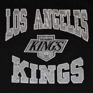 Vintage 90s CCM NHL LA Kings T-Shirt - L
