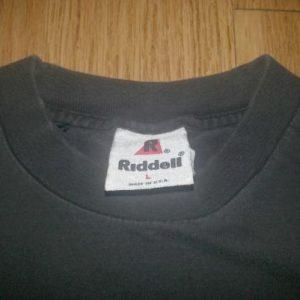 1994 NY Jets T-Shirt FADED 90s Riddell Helmet Old Logo XL