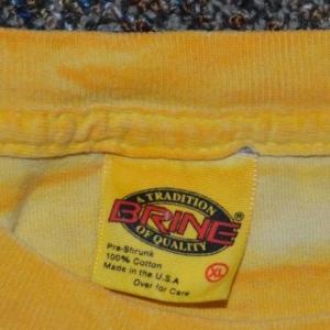 Vintage 90s T-Shirt Notre Dame Lacrosse Tie Dye Fits XL XXL