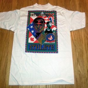VTG 90s TEAM USA Speedo Swimming T-Shirt Olympics Sz XXL