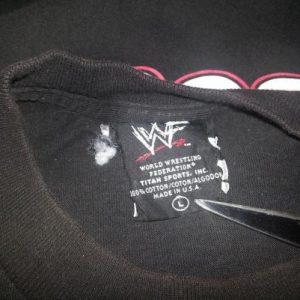 Mr. Socko T-Shirt 90s WWF Wrestling Mankind Mick Foley Sz L