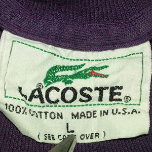 90s Lacoste T-Shirt Paintbrush Design Alligator Sz XL