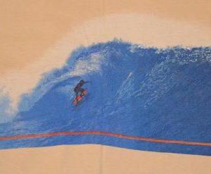 Vintage 80s Jersey Shore Point Pleasant NJ Surfing T-Shirt