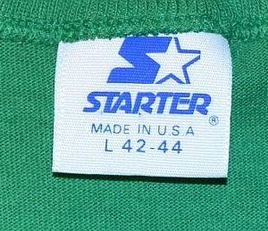 Vintage 80s STARTER Phila. Eagles Football Club T-Shirt