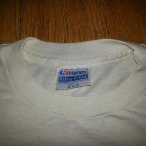1982 Anatomy of a Teddy Bear T-Shirt Bialosky SOFT THIN Sz L