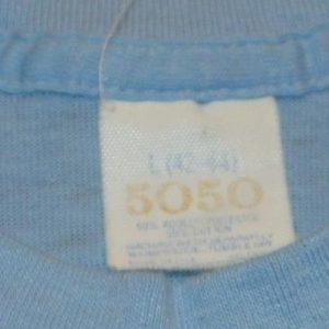 VTG 70s 80s Where the Heck is Flemington NJ T-Shirt sz M L
