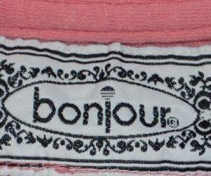 Vintage 80s T-Shirt Bonjour Jeans Action - XL